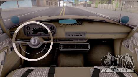 Plymouth Belvedere 1958 IVF for GTA San Andreas inner view