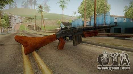 Enemy Front - Browning 1928 for GTA San Andreas third screenshot
