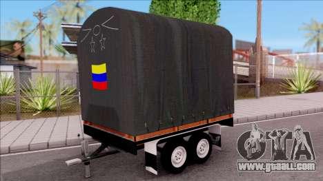 Remolque De Estacas for GTA San Andreas