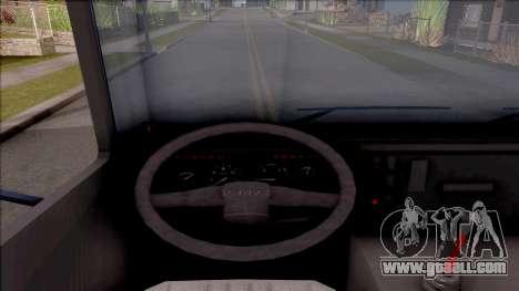 FAP Matis Nameštaj Kamion for GTA San Andreas inner view