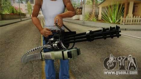 Minigun China Wind for GTA San Andreas third screenshot
