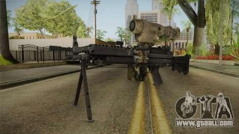 M249 Light Machine Gun v2 for GTA San Andreas second screenshot