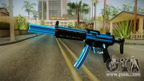 MP5 Fulmicotone for GTA San Andreas