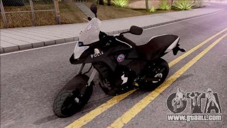 Honda CB500X Turkish Police Motorcycle for GTA San Andreas
