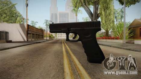 Glock 17 3 Dot Sight White for GTA San Andreas third screenshot