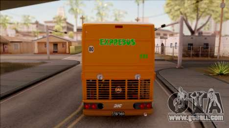 DIC EXPREBUS for GTA San Andreas back left view
