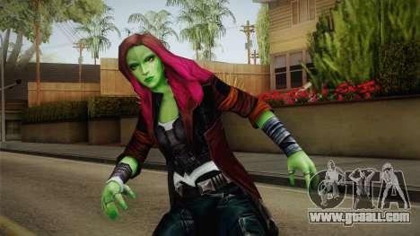 Marvel Future Fight - Gamora (GOTG Vol. 2) for GTA San Andreas