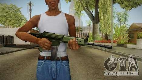 AK-5 Assault Rifle for GTA San Andreas third screenshot