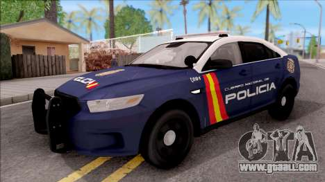 Ford Taurus Spanish Police for GTA San Andreas