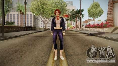 Lola Lombardi from Bully Scholarship for GTA San Andreas second screenshot
