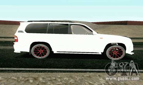 Toyota Land Cruiser 100 2017 for GTA San Andreas left view