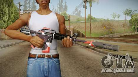 CS:GO - M4A1-S Cyrex for GTA San Andreas third screenshot