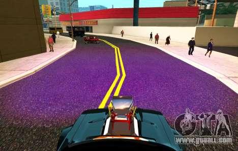XeNON Hid 30000K PuRple for GTA San Andreas third screenshot
