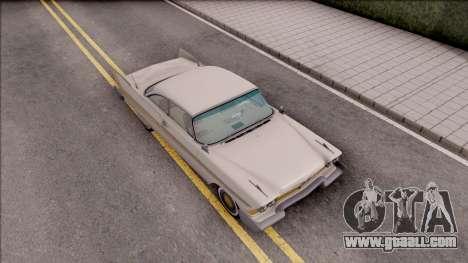 Plymouth Fury 1958 HQLM for GTA San Andreas right view