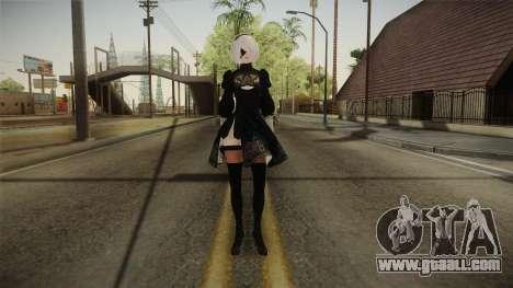 NieR: Automata - 2B for GTA San Andreas second screenshot