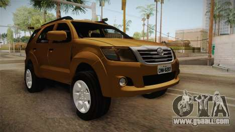 Toyota Fortuner V for GTA San Andreas