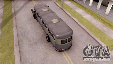 Bus from GTA 3 for GTA San Andreas back view