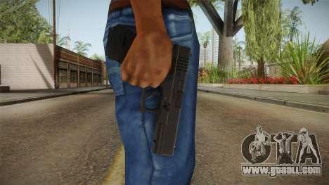 Glock 17 3 Dot Sight White for GTA San Andreas