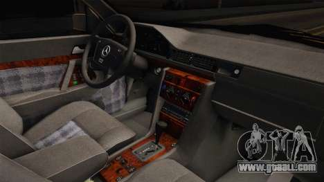 Mercedes-Benz W202 C230 for GTA San Andreas inner view