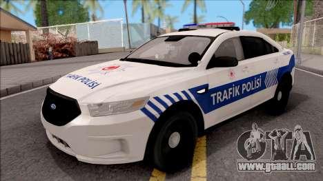 Ford Taurus Turkish Traffic Police for GTA San Andreas