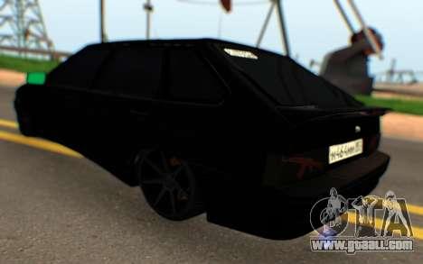 Lada 2114 Samara for GTA San Andreas back left view