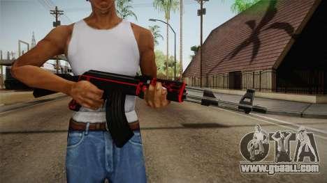 CF AK-47 v5 for GTA San Andreas