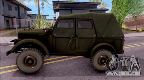 GAZ 69A for GTA San Andreas left view