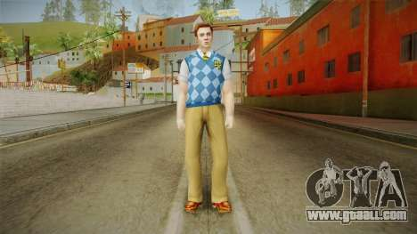 Tad Spencer from Bully Scholarship for GTA San Andreas second screenshot