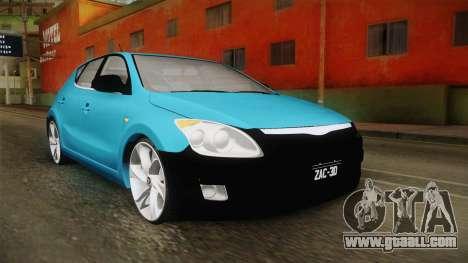 Hyundai i30 Double Color for GTA San Andreas