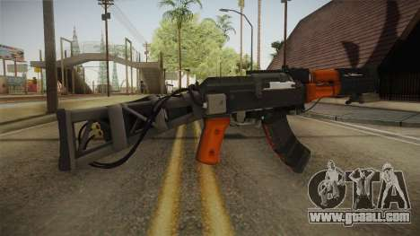 Volk Energy Assault Rifle v1 for GTA San Andreas second screenshot