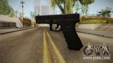 Glock 18 3 Dot Sight Orange for GTA San Andreas second screenshot