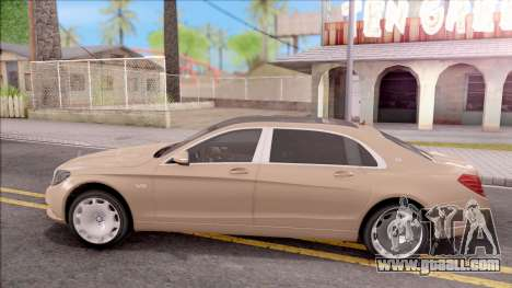 Mercedes-Maybach S600 for GTA San Andreas