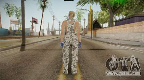 Gunrunning Female Skin v2 for GTA San Andreas third screenshot