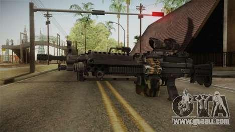 M249 Light Machine Gun v4 for GTA San Andreas second screenshot
