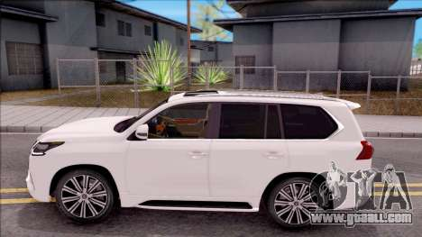 Lexus LX570 2016 for GTA San Andreas left view