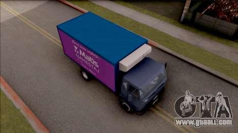 FAP Matis Nameštaj Kamion for GTA San Andreas right view