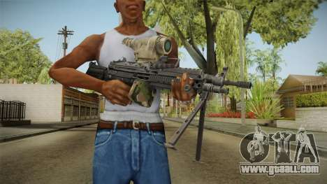 M249 Light Machine Gun v2 for GTA San Andreas