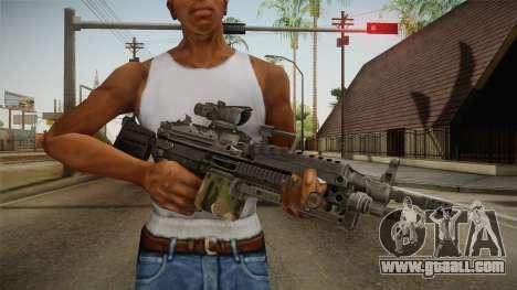 M249 Light Machine Gun v4 for GTA San Andreas