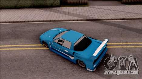 BlueRay's Infernus V9+V10 for GTA San Andreas back view