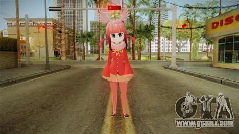 Kemono Friends Ibis Escarlata v2 for GTA San Andreas second screenshot