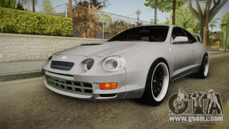 Toyota Celica GT for GTA San Andreas back left view