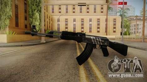CF AK-47 v4 for GTA San Andreas second screenshot