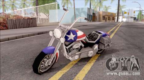 Liberty City Stories Angel for GTA San Andreas