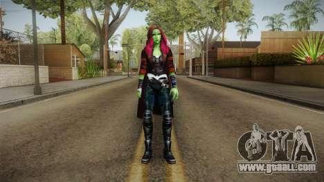 Marvel Future Fight - Gamora (GOTG Vol. 2) for GTA San Andreas second screenshot