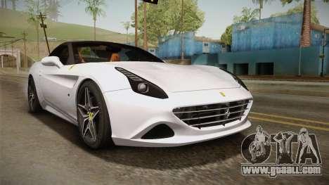 Ferrari California T for GTA San Andreas