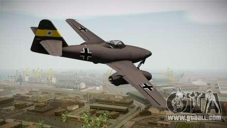 Messerschmitt Me-262 Schwalbe for GTA San Andreas left view