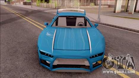 BlueRay's Infernus V9+V10 for GTA San Andreas inner view