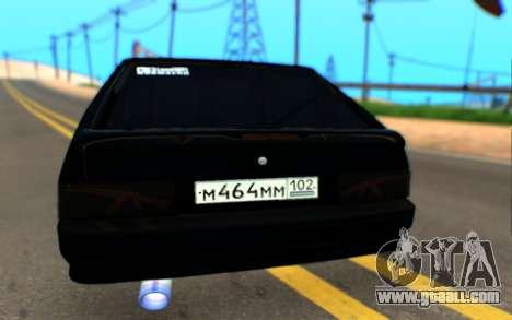 Lada 2114 Samara for GTA San Andreas right view