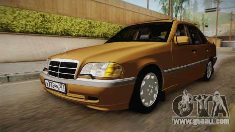 Mercedes-Benz W202 C230 for GTA San Andreas right view