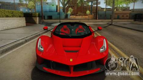 Ferrari LaFerrari for GTA San Andreas